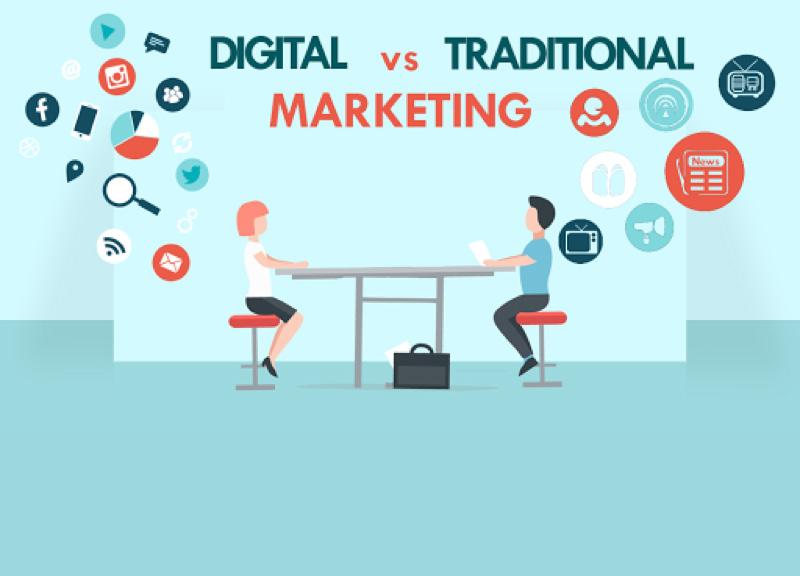 مقایسه کسب و کار دیجیتال و سنتی
