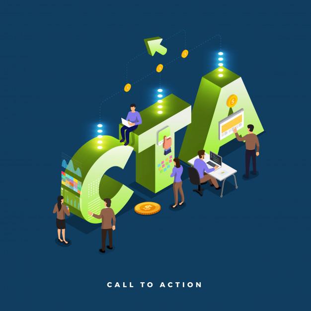 """استفاده از دکمه اقدام به عمل یا """"Call To Action"""""""