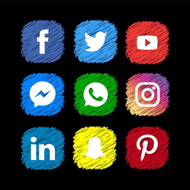 لینک دادن به شبکه های اجتماعی دیگر